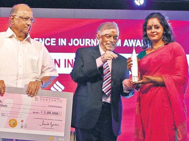 shalini singh,Ramnath Goenka awards,journalism