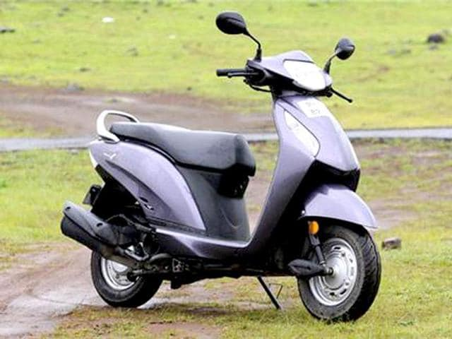 Domestic scooter sales