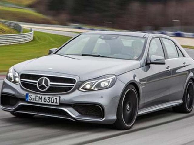 Mercedes E63 will come with a 557bhp 5.5-litre twin-turbo V8 engine.