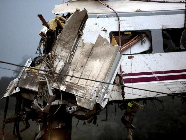 Spanish train crash,Santiago De Compostela,Francisco Jose Garzon