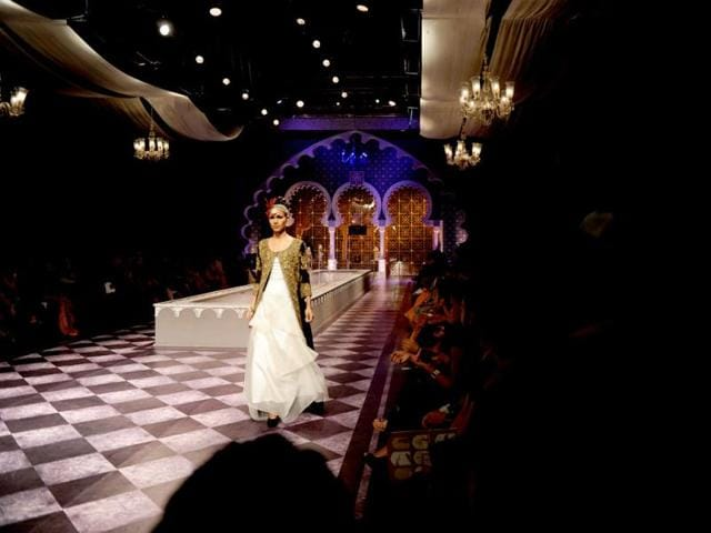 Bringing the regality of Awadh to the ramp