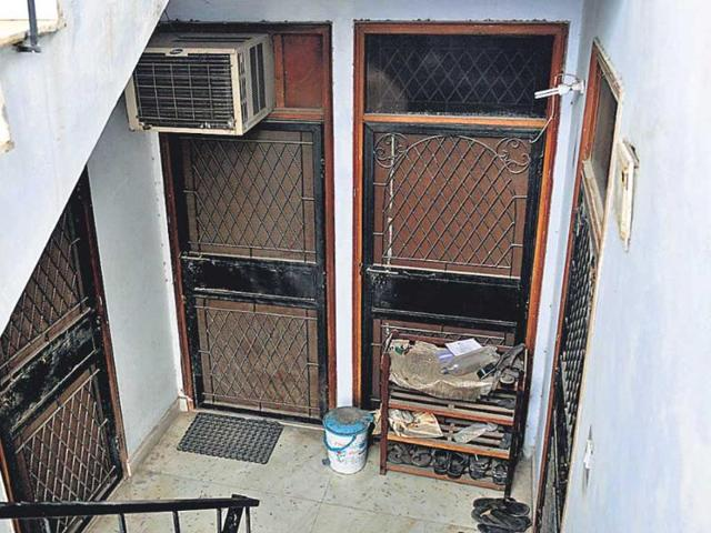 The-Batla-House-flat-at-L-18-building-was-locked-and-covered-in-dust-when-an-HT-team-visited-on-July-25-2013-Mohd-Zakir-HT-Photo