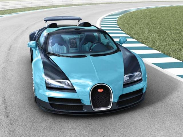 New Bugatti Veyron