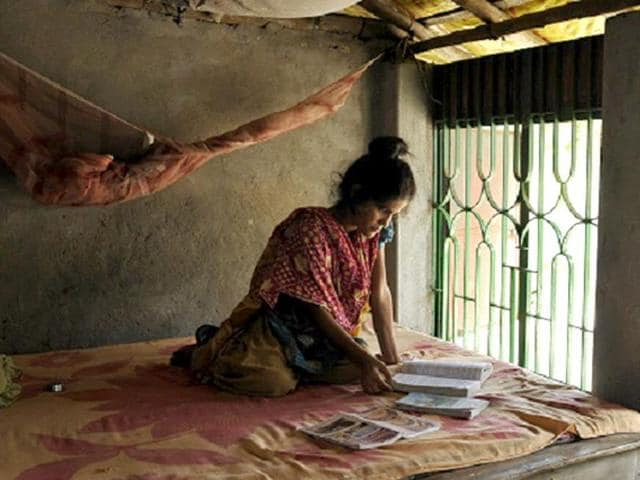 Sabina-Khatun-a-class-nine-student-at-her-house-in-Haridevpur-village-West-Bengal-She-dropped-out-from-school-after-the-attack-due-to-fear-Photo-by-Ashok-Nath-Dey-Hindustan-Times
