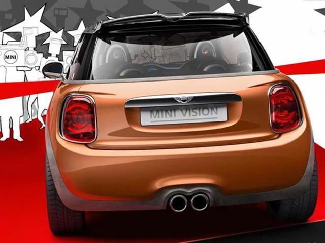 New Mini Vision concept photo gallery