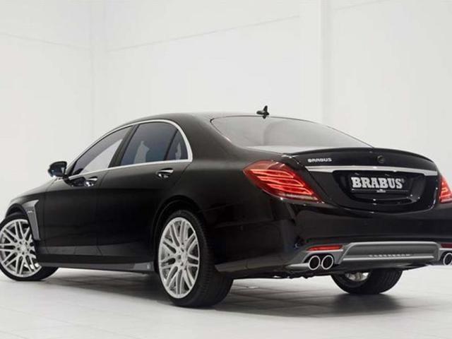 Mercedes S-Class Brabus photo gallery