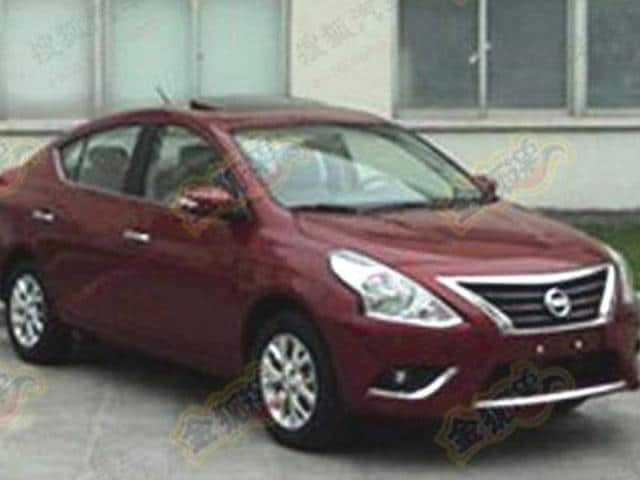nissan sunny facelift launch in india,nissan sunny facelift,nissan sunny launch