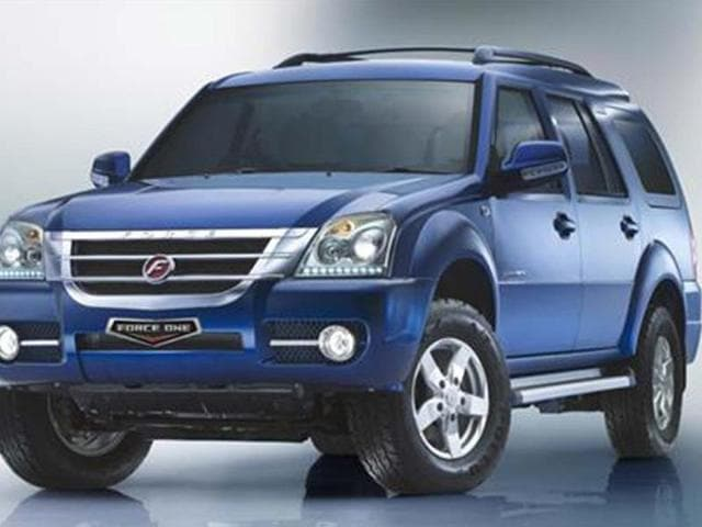 force one suv price in india,force one ex,force one sx