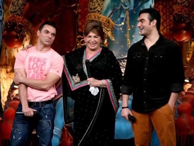 Helen-and-Sohail-Khan-join-Arbaaz-Khan-on-Comedy-Circus-ke-Mahabali
