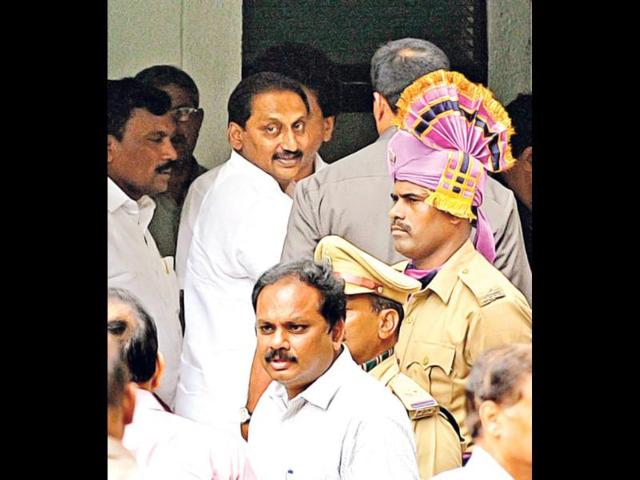 Andhra Pradesh,Kiran Kumar Reddy,President rule