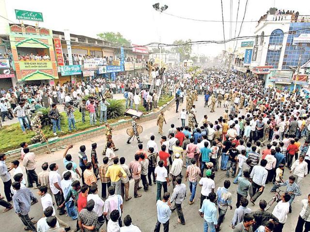 Seemandhra employees in secretariat boycott work