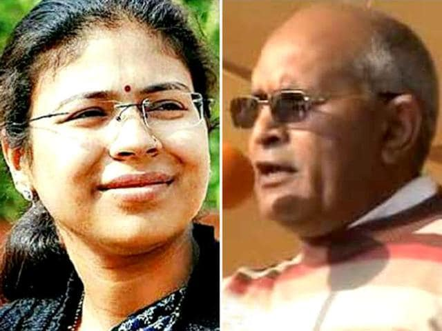 Durga Shakti Nagpal,Narendra Bhati,SMD suspension issue