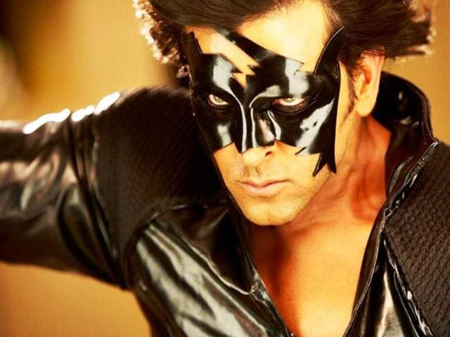 Hrithik Roshan returns with the thrid part of his franchise - Krrish 3.