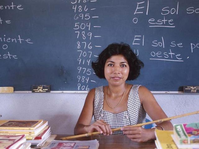 Language teaching,French,German and Spanish. foreign language