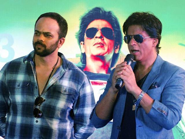 Rohit Shetty,Chennai Express,Shah Rukh Khan