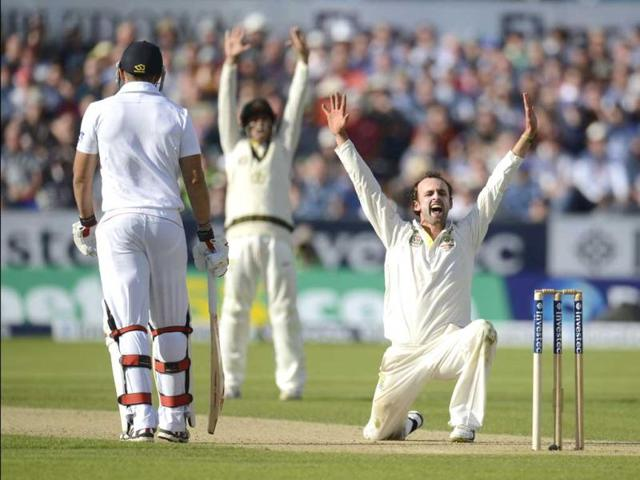 Ashes: Lyon roars as Australia claim opening day honours