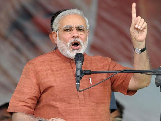 In Hyderabad, Modi takes poll position