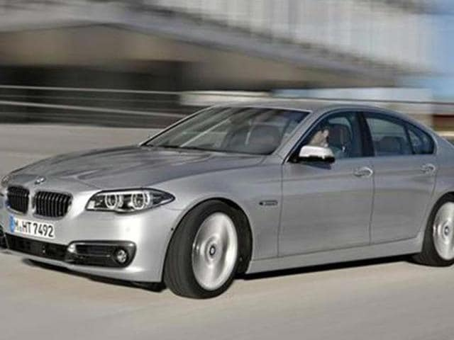 bmw 5-series price in india