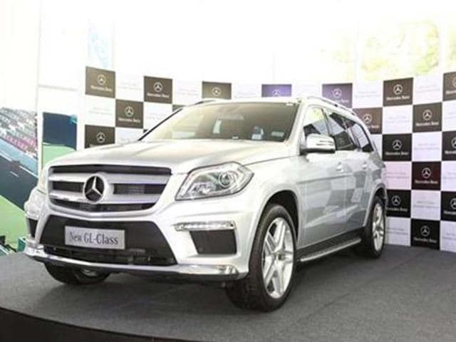 mercedes gl price in india