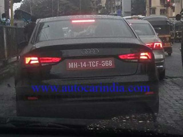 audi a3 india launch date,audi a3 saloon india spy pics,audi a3 saloon review