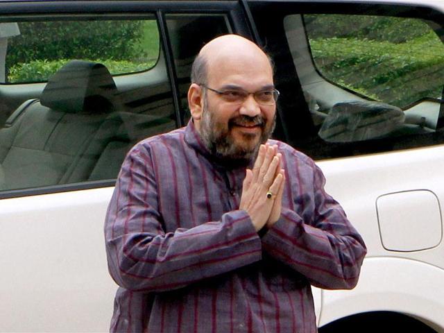 Shah reveals BJP'S anti-appeasement plank for LS polls
