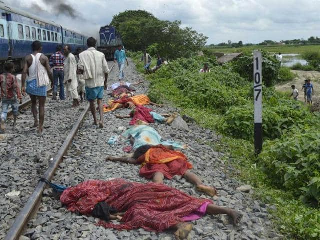 Dhamara Ghat,bihar train tragedy,Khagaria district