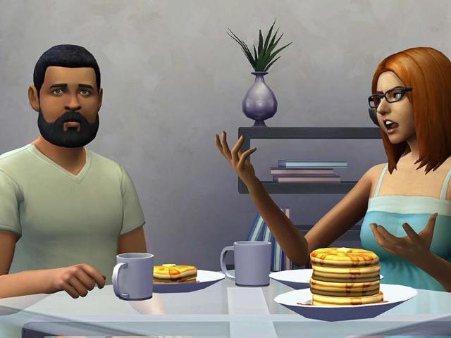 Sims,Sims 4,E3 gameplay
