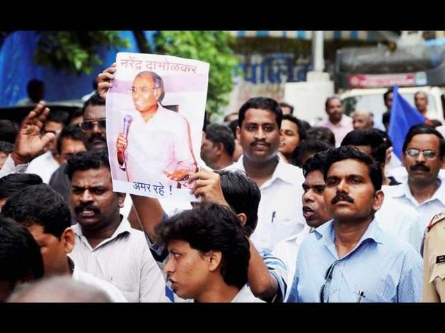 People-in-Mumbai-protest-against-the-murder-of-Narendra-Dabholkar-an-anti-superstition-activist-who-was-shot-dead-in-Pune-on-August-20-2013-PTI-Photo