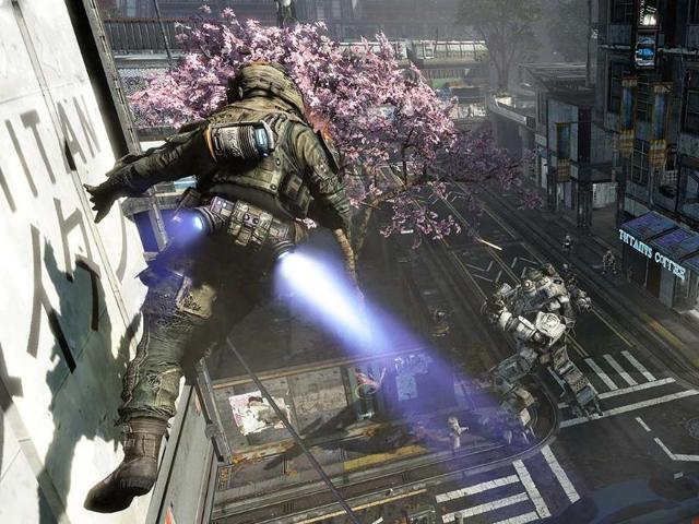 Speed-vs-strength-in-near-future-multiplayer-combat-game-Titanfall-Photo-AFP