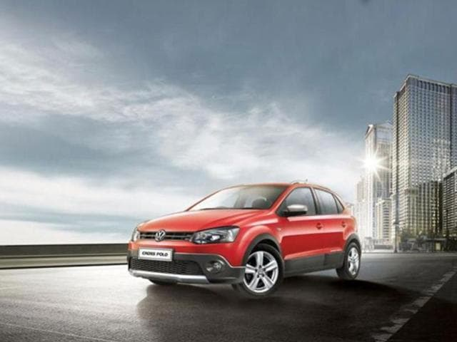 German-car-maker-Volkswagen-has-launched-Cross-Polo-a-new-variant-of-its-hatchback-Polo-in-India-priced-at-Rs-7-75-lakh