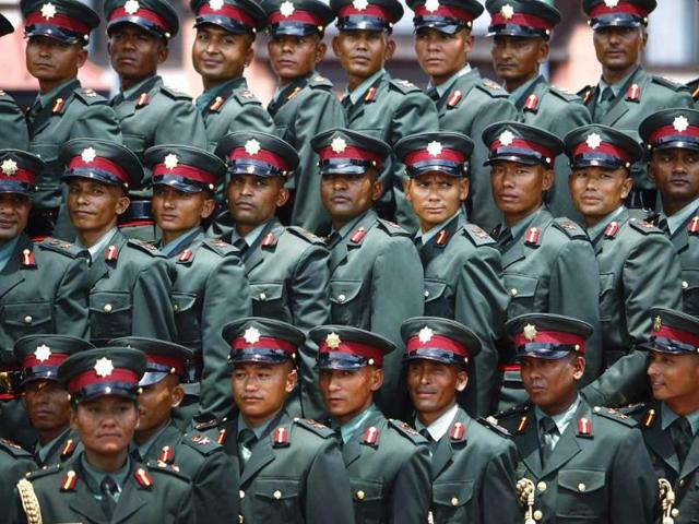 Maoist rebels,Nepal Army,officer cadets