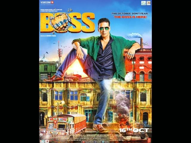 Akshay Kumar,Boss,shooting