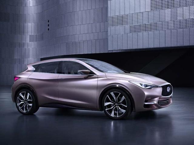The Infiniti Q30 Concept,Nissan's luxury car brand,Q30 Concept