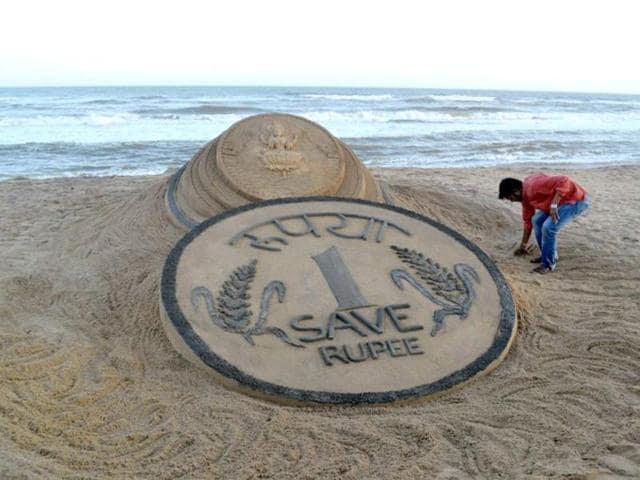 Falling rupee,factory activity,economic growth