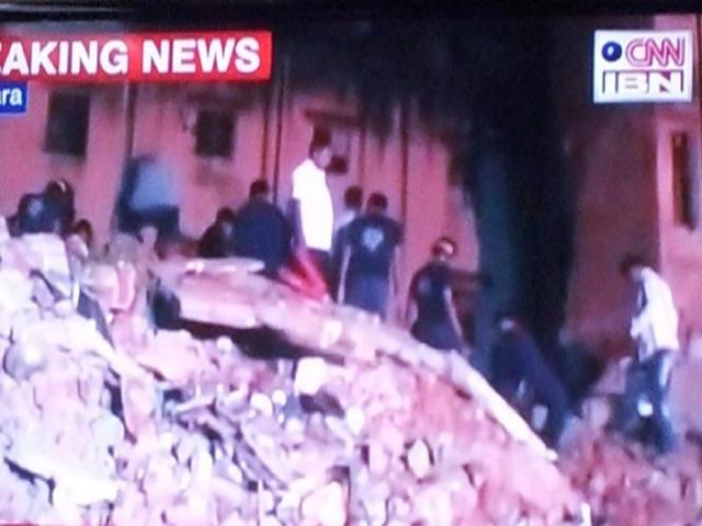 Odisha: 4 killed in building collapse, rescue ops on