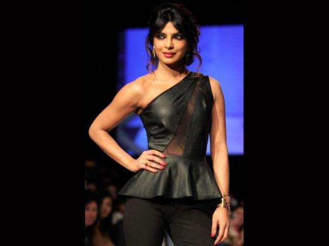 Priyanka Chopra,Lakme Fashion Week Winter/Festive,American designer