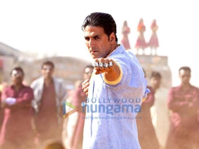 Akshay Kumar gets into action mode.
