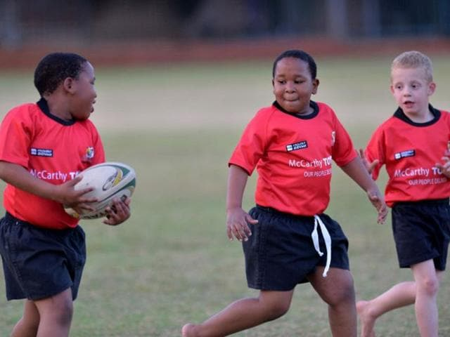 South African junior rugby team