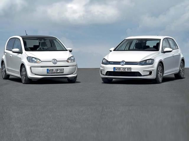 Volkswagen to present e-up! and e-Golf: all-electric versions of its star models,Volkswagen's,all-electric vehicles