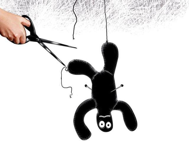 schizophrenia,blind faith,superstition