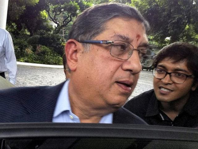 International Cricket Council,N Srinivasan,Alan Isaac