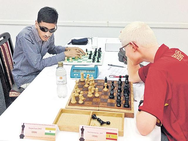 Chess Federation for the Blind,Darpan Inani,Viswanathan Anand