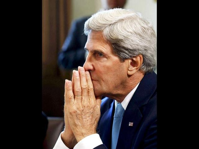 Syria's chemical weapons controlled by Assad, 2 others : Kerry