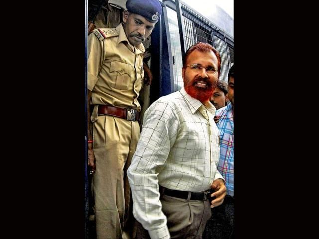 File-photo-of-Gujarat-IPS-officer-DG-Vanzara-being-taken-to-a-court-in-Ahmedabad-PTI-Photo