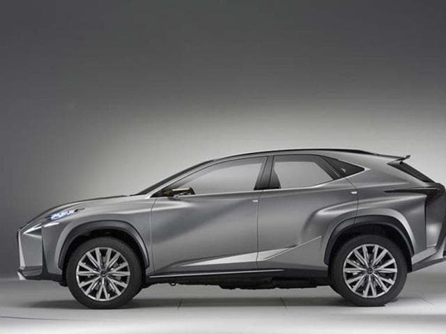 New Lexus LF-NX SUV concept photo gallery