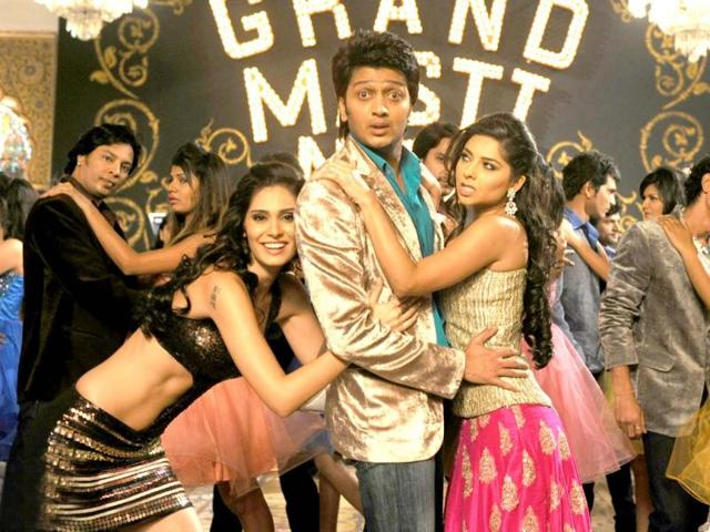 Grand Masti starring Vivek Oberoi, Riteish Deshmukh, Aftab Shivdasani and Manjari Fadnis is a sequel of the film, Masti, which was released in 2004.