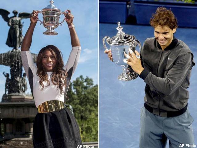 Rafael Nadal,Serena Williams,US Open