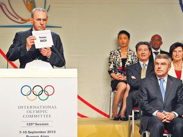 Thomas Bach,International Olympic Committee,Jacques Rogge