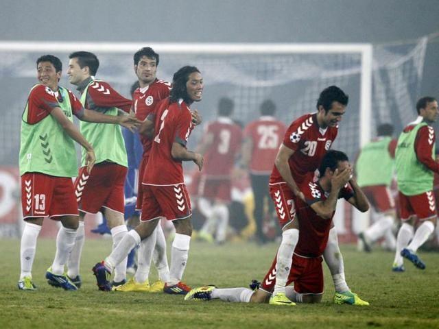 Afghanistan,Hamid Karzai,South Asian Football Federation