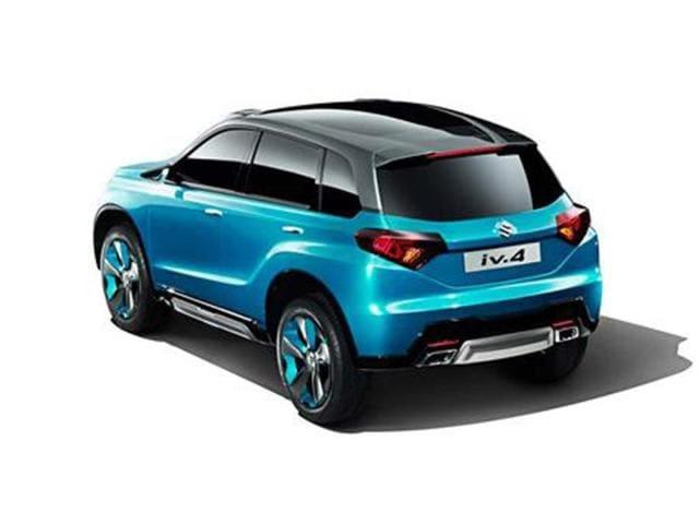 New Suzuki iV-4 concept SUV photo gallery